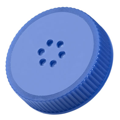 CLS-1484-A 70MM VENTED CAPS, BLUE, NON-STERILE