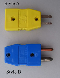ADAPTERS, THERMOCOUPLE TRANSITION